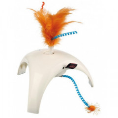 TRIXIE Feather Spinner - zabawka z czujnikiem ruchu