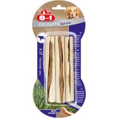 8in1 Beef Delights Sticks - Pałeczki do żucia z wołowiną 3 szt.