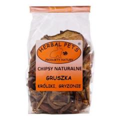 HERBAL PETS Chipsy Naturalne - Gruszka 75g
