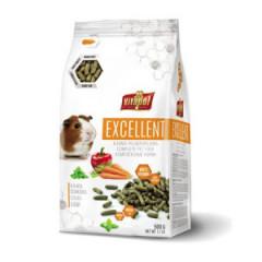 VITAPOL Excellent Pełnoporcjowa karma dla kawii domowej (świnka morska) 500g