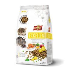 VITAPOL Excellent Pełnoporcjowa karma dla szczura i myszy 500g