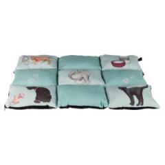 TRIXIE Koc / Legowisko dla kota Patchwok - miętowy 70 x 55 cm