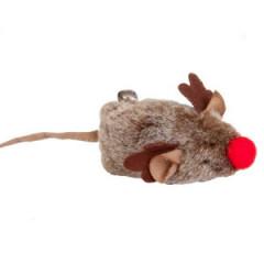 DINGO Zabawka dla kota - Mysz Rudolf