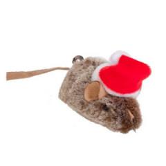 DINGO Zabawka dla kota - Mysz Mikołaj