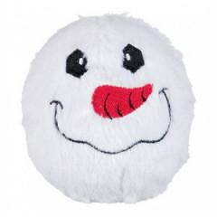 TRIXIE Pluszowa piłka śnieżynka z dźwiękiem - różne wzory 10cm