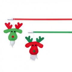 TRIXIE Świąteczna wędka z reniferem 43cm