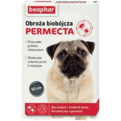 BEAPHAR Permecta Dog S 50cm - obroża biobójcza dla małych i średnich psów