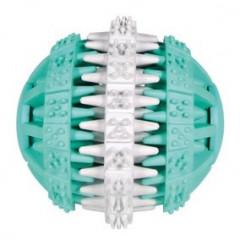 TRIXIE Masująca piłka miętowa Denta Fun 6cm
