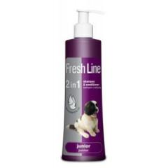 FRESH LINE szampon z odżywką dla juniorów 220ml