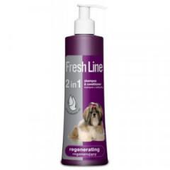 FRESH LINE szampon z odżywką regenerujacy 220ml