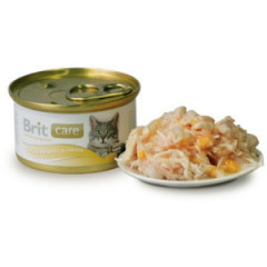 BRIT CARE CAT Chicken Breast & Cheese (puszka)