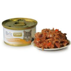 BRIT CARE CAT Tuna, Carrot & Pea (puszka)
