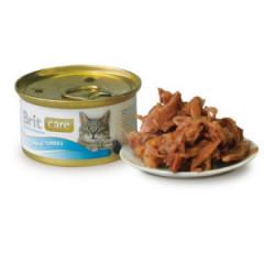 BRIT CARE CAT Tuna & Turkey (puszka)
