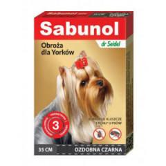 SABUNOL Obroża ozdobna dla psa 35cm