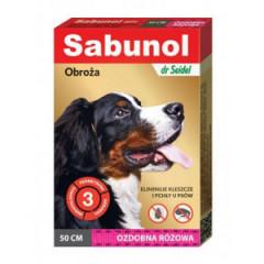 SABUNOL Obroża ozdobna dla psa 50cm