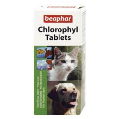 BEAPHAR Chlorophyl Tablets - Preparat netralizujący zapachy 30 tab.