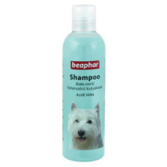 BEAPHAR Aloesowy szampon do białej sierści 250ml
