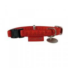 ZOLUX Obroża Mac Leather Czerwona