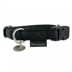 ZOLUX Obroża Mac Leather Czarna