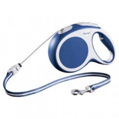 FLEXI Smycz automatyczna VARIO linka - niebieska