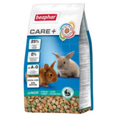 BEAPHAR Care+ Rabbit Junior - karma dla królika do 10. m-ca życia 1,5kg
