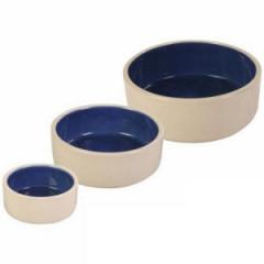 TRIXIE Miska ceramiczna kremowo / niebieska