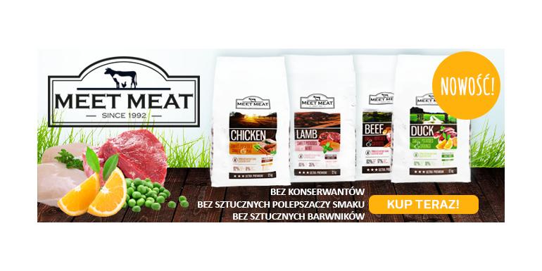 Nowa seria karm Ultra Premium MEET MEAT!
