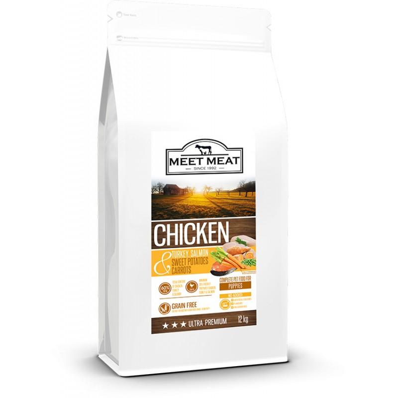 MEET MEAT Puppy Chicken, Sweet Potatoes & Carrots
