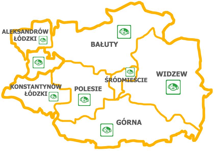 Mapa Turbokurier