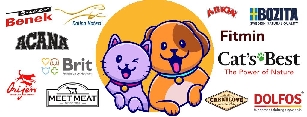 Poznaj pełną ofertę produktów dla zwierząt!